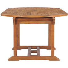 Teak Wood Orleans Oval Extension Table