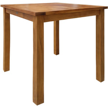 Teak Wood Seville Outdoor Patio Counter Height Bistro Table - 27 inch - Chic Teak