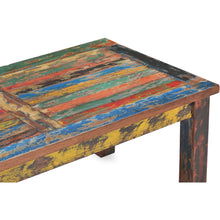 Rectangular Coffee Table made from Recycled Teak Wood Boats