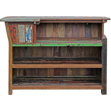 Marina Del Rey Recycled Teak Wood Boat Bar (Available in Left or Right) - Chic Teak
