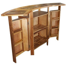 Folding Bar Made From Recycled Teak Wood Boats - Chic Teak