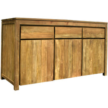 Recycled Teak Solo Buffet 3 Doors 3 Drawers - Chic Teak