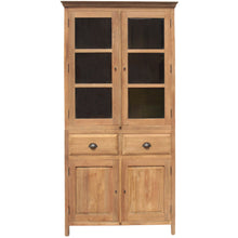Recycled Teak Wood Bali Cupboard Small - Chic Teak
