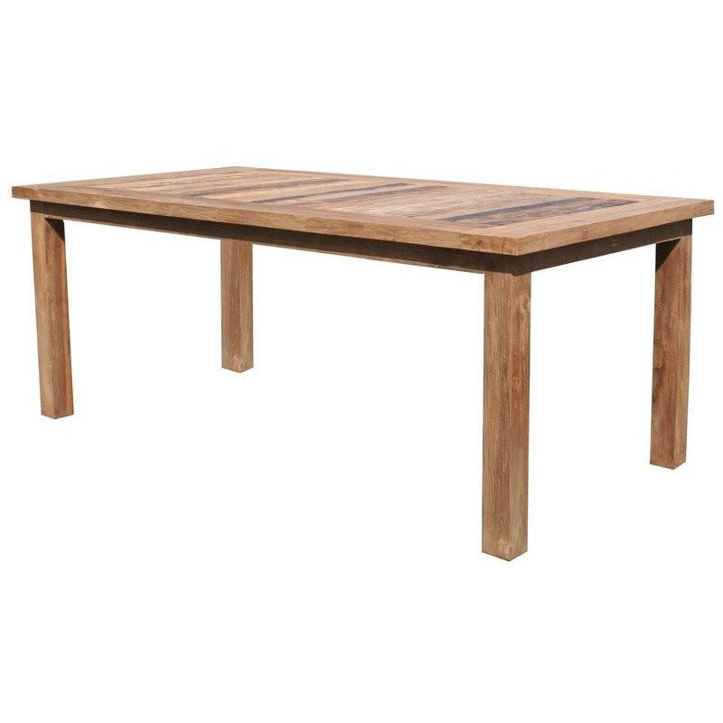 Recycled Teak Wood Tuscany Dining Table -  71