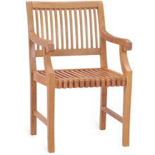 Teak Wood Castle Arm Chair