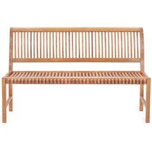 Teak Wood Castle Bench without Arms, 5 ft