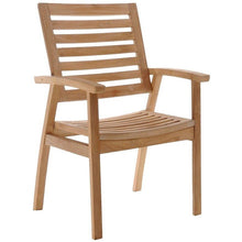 Teak Wood Kasandra Arm Chair - Chic Teak