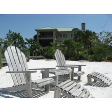 Teak Wood Adirondack Chair With Footstool - Chic Teak