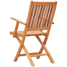 Teak Wood Santa Barbara Folding Arm Chair (set of 2)