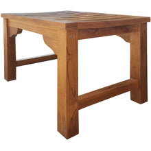Teak Wood Santa Monica Backless Bench/Stool, 2 foot - Chic Teak