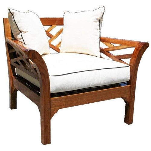 Teak Long Island Chair - Chic Teak