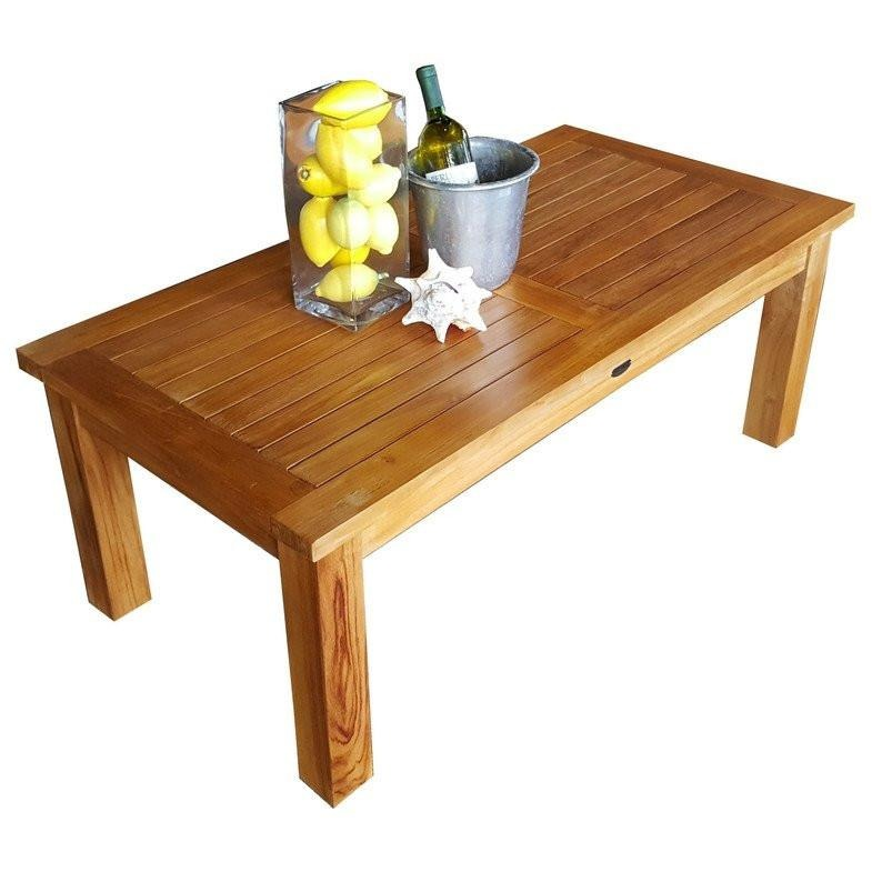 Teak Wood San Diego Coffee Table by Chic Teak only $449.71
