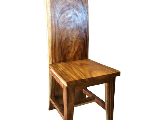 Suar Amazon Live Edge Dining Chair - Chic Teak
