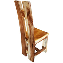 Suar Orinoco Live Edge Dining Chair - Chic Teak