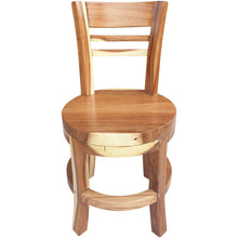 Suar Olympia Live Edge Dining Chair - Chic Teak