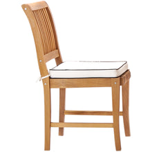 "3 Piece Teak Wood Florence Intimate Bistro Dining Set with 27"" Square Table and 2 Side Chairs"