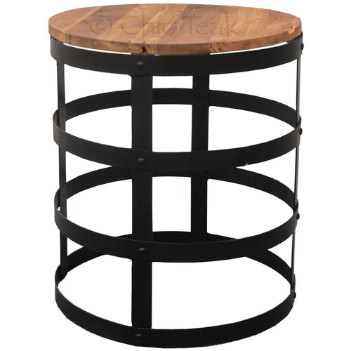 Teak Wood Nutella Side Table - Chic Teak