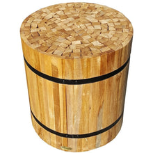 Teak Nutella Stool-Chic Teak