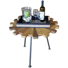 Teak Wood Matahari Side Table - Chic Teak