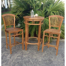 Teak Wood Orleans Bar Stool - Chic Teak
