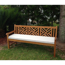 Cushion For Triple Chippendale Bench or Swing - Chic Teak