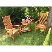 Teak Wood West Palm Arm Chair - Chic Teak
