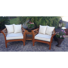 Teak Wood Long Island Chair - Chic Teak