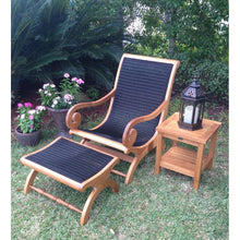 Kenya Lazy Chair Incl. Footstool - Chic Teak