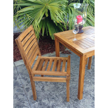 Teak Wood Kasandra Side Chair - Chic Teak