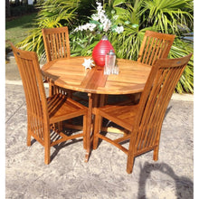 Teak Wood Balero Side Chair - Chic Teak