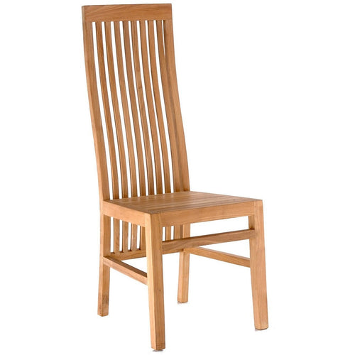 Teak Wood West Palm Side Chair - Chic Teak