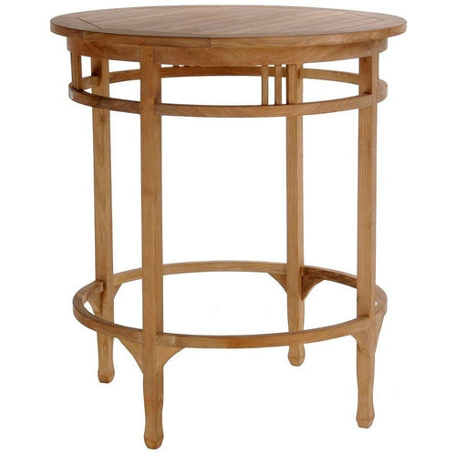 Large Teak Orleans Bar Table - Chic Teak