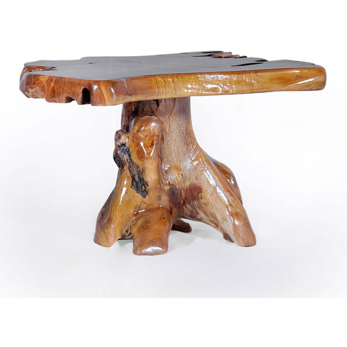 Teak Wood Slab Coffee Table - Chic Teak