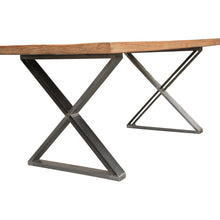 Everglades Reclaimed Wood Rustic Dining Table, 71 inch - Chic Teak