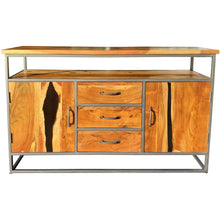 Oceanside Acacia Wood Buffet/Media Center