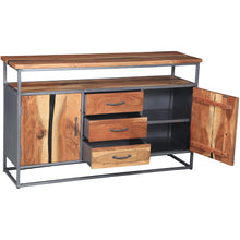 Oceanside Acacia Wood Buffet/Media Center - Chic Teak
