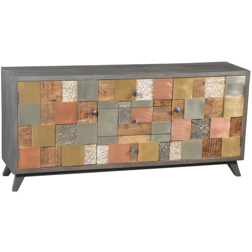 Picasso Mango Wood Buffet - Chic Teak