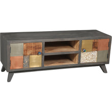 Picasso Mango Wood Media Center - Chic Teak