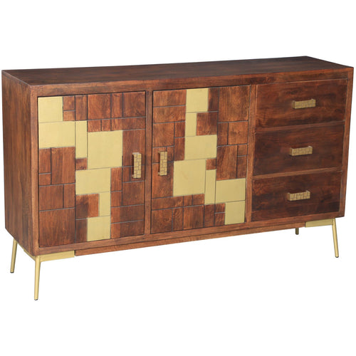 Montevideo Mango Wood Buffet - Chic Teak