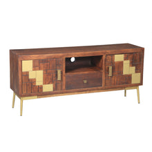 Montevideo Mango Wood Media Center - Chic Teak