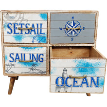Seaside Mango Wood Chest with 4 Drawers