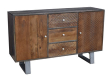 Iwal Mango Wood Buffet with 3 Drawers and 2 Doors