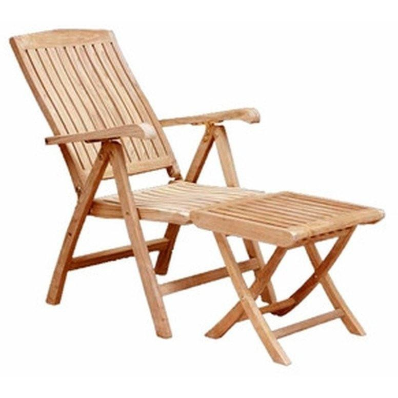 ... Teak Miami Reclining Chair   Chic Teak ...
