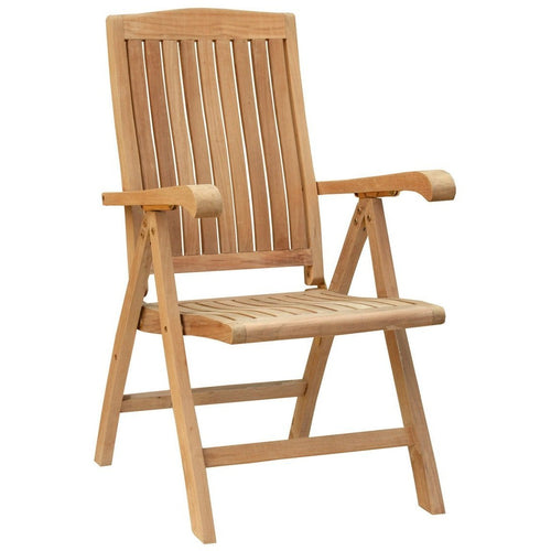 Teak Miami Reclining Chair - Chic Teak