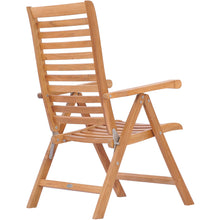 Teak Wood Italy Reclining Chair