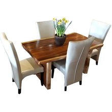 Suar Slab Dining Table-Chic Teak