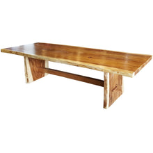 "Suar Live Edge Unique Slab Dining/Conference Table - 138"" Long (choice of table tops)"
