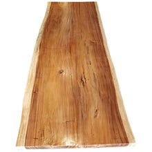 "Suar Live Edge Unique Slab Dining Table - 118"" Long (choice of table tops) - Chic Teak"