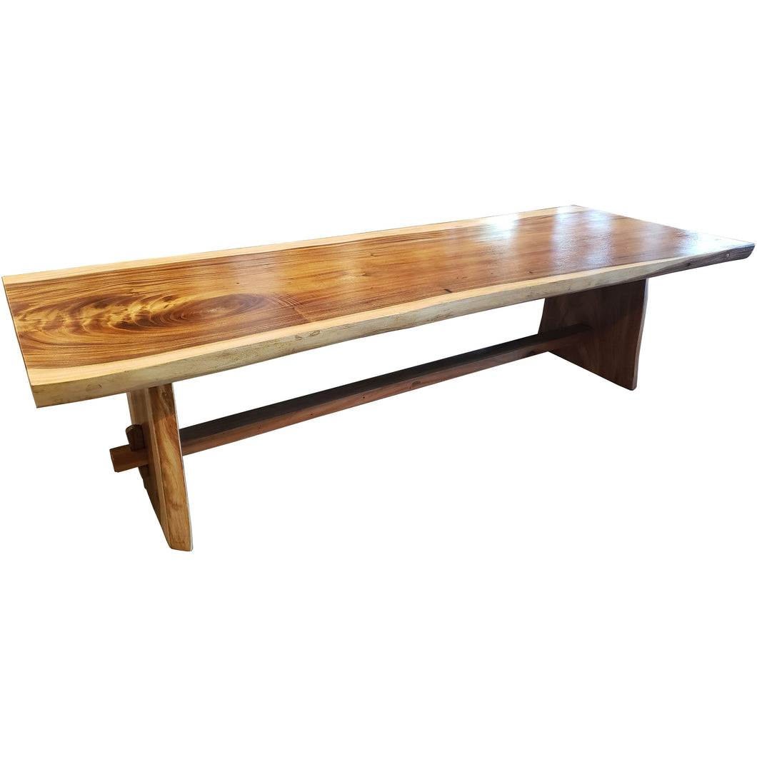 Suar Live Edge Unique Slab Dining/Conference Table - 138