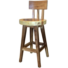 Suar Costa Mesa Live Edge Counter Stool